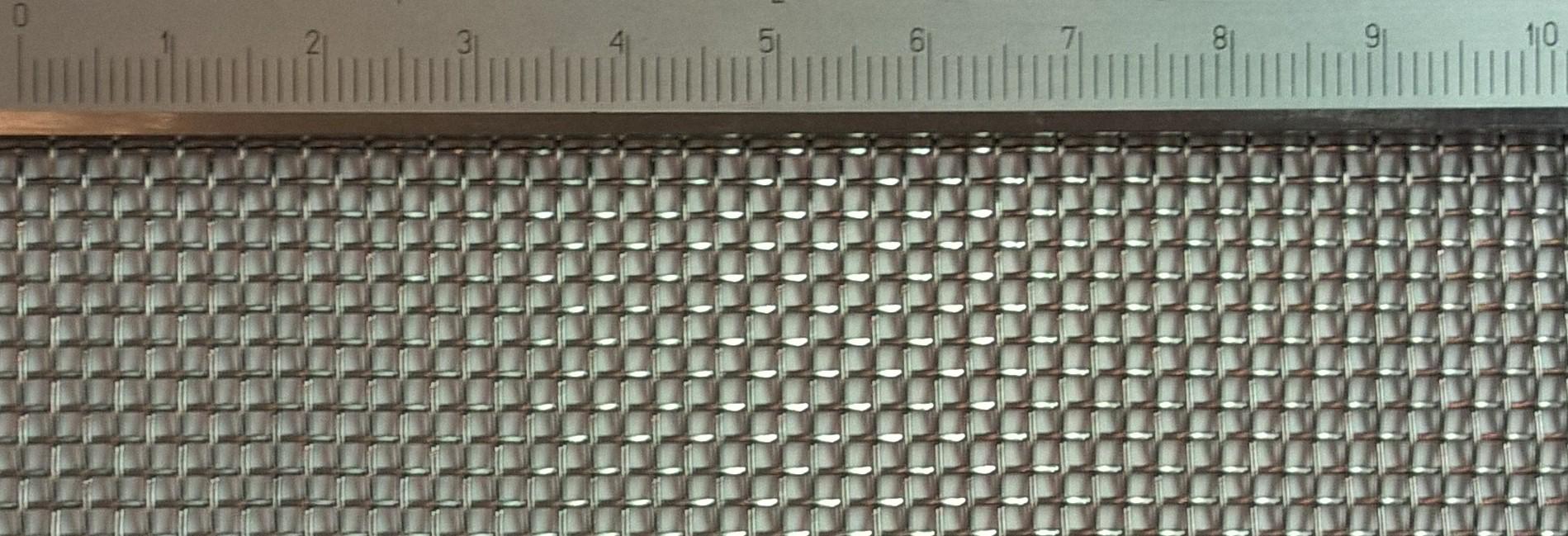 Drahtgeflecht mit 1,54mm Maschenweite / 0,58mm Drahtstärke