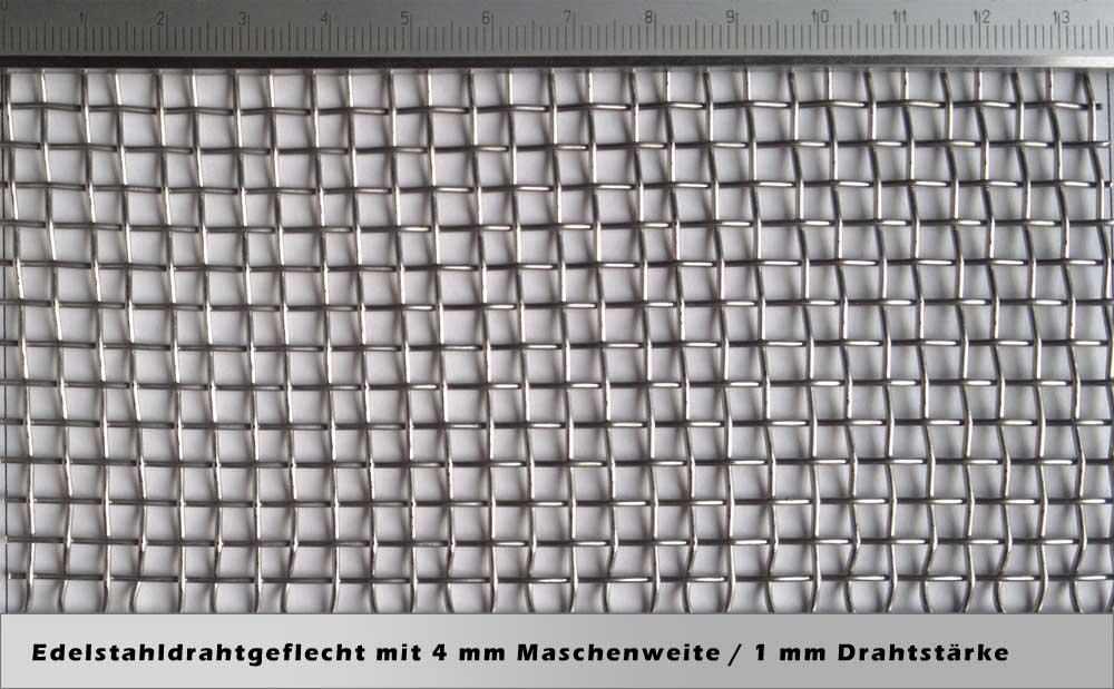 Erfreut Drahtgeflecht Aus Edelstahl Ideen - Elektrische Schaltplan ...